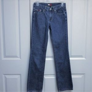 Tommy Hilfiger Blue Jeans Size Jr 1 Straight Leg